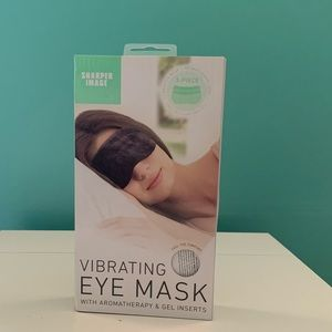 Sharper image - Sleep mask with cooling pad!